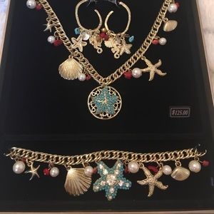 NIB Bella Del Mar Jewelry Set